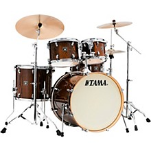 Superstar Classic Exotix 5-Piece Shell Pack with 22 in. Bass Drum Gloss Java Lacebark Pine