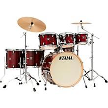 Superstar Classic Exotix 7-Piece Shell Pack with 22 in. Bass Drum Gloss Garnet Lacebark Pine