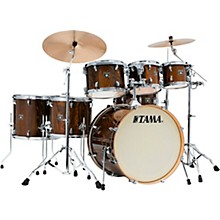 Superstar Classic Exotix 7-Piece Shell Pack with 22 in. Bass Drum Gloss Java Lacebark Pine