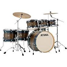 Superstar Classic Exotix 7-Piece Shell Pack with 22 in. Bass Drum Matte Midnight Elm Burst