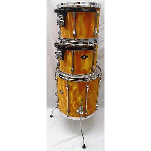 used tama superstar drum kit orange guitar center. Black Bedroom Furniture Sets. Home Design Ideas