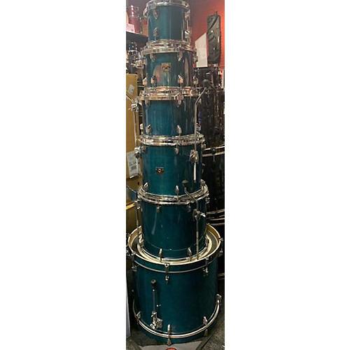used tama superstar drum kit blue guitar center. Black Bedroom Furniture Sets. Home Design Ideas