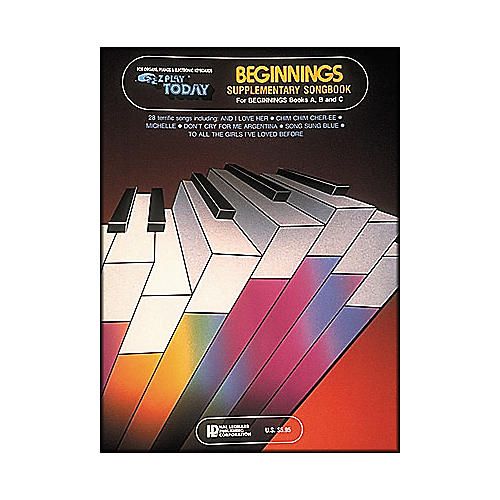Hal Leonard Supplementary Songbook for Beginnings (Books A, B & C)