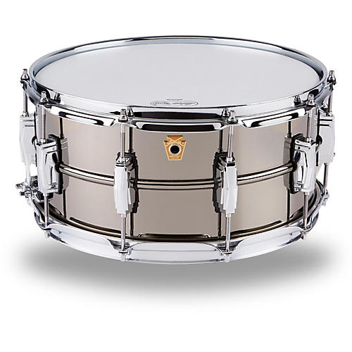 ludwig supraphonic black beauty snare drum guitar center. Black Bedroom Furniture Sets. Home Design Ideas