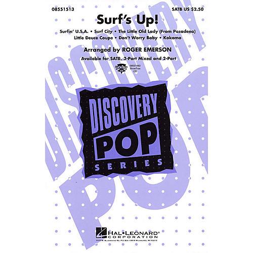 Hal Leonard Surf's Up! (Medley) SATB arranged by Roger Emerson