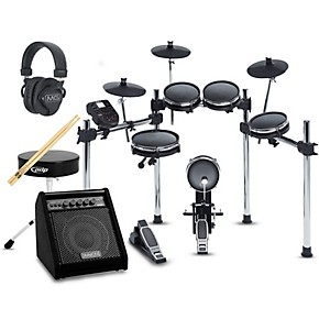 alesis surge mesh kit complete electronic drum set with da50 amp guitar center. Black Bedroom Furniture Sets. Home Design Ideas