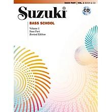 Suzuki Suzuki Bass School Book & CD Volume 1 (Revised)