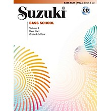 Suzuki Suzuki Bass School Book & CD Volume 3 (Revised)