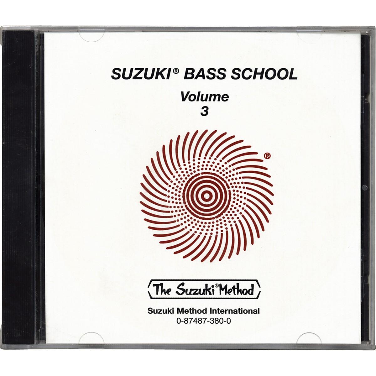Alfred Suzuki Bass School CD Volume 3