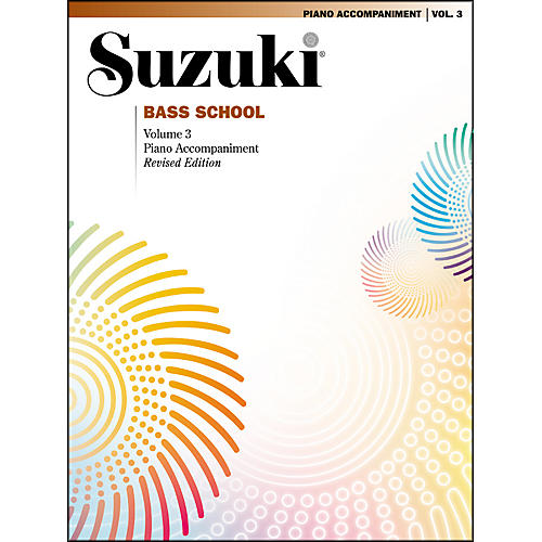Alfred Suzuki Bass School Piano Accompaniment Volume 3