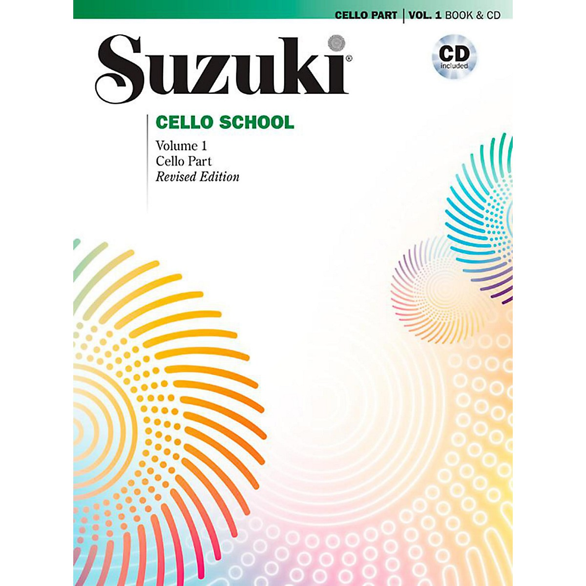 Alfred Suzuki Cello School Book & CD Volume 1 (Revised)