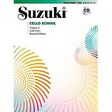 Alfred Suzuki Cello School Book & CD Volume 2 (Revised)