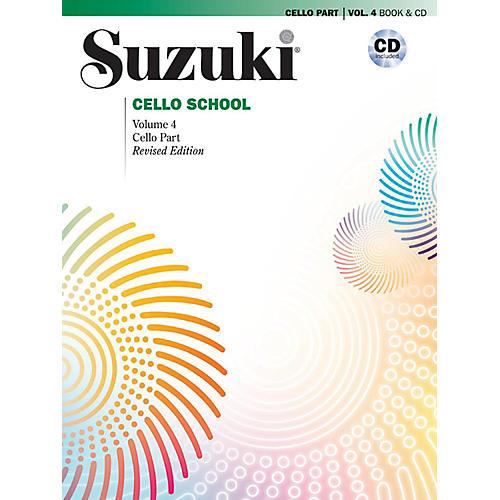 Suzuki Suzuki Cello School Book & CD Volume 4 (Revised)