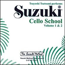 Alfred Suzuki Cello School CD, Volume 1 & 2