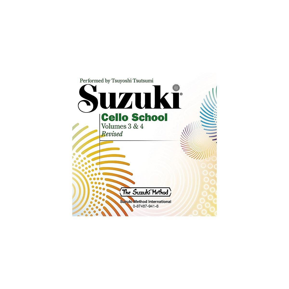 Alfred Suzuki Cello School CD, Volume 3 & 4