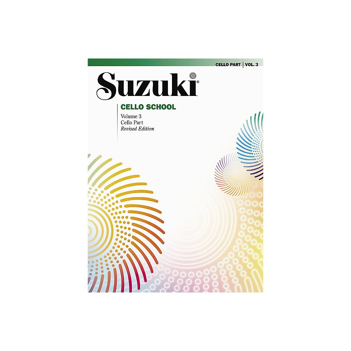 Alfred Suzuki Cello School Cello Part, Volume 3 Book