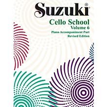 Alfred Suzuki Cello School Piano Accompaniment Volume 6 (Book)