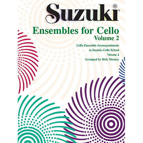 Alfred Suzuki Ensembles for Cello, Volume 2