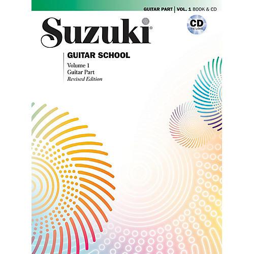 Suzuki Suzuki Guitar School Guitar Part & CD, Volume 1 Book & CD Revised