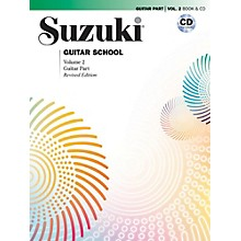 Suzuki Suzuki Guitar School Guitar Part & CD, Volume 2 Book & CD Revised
