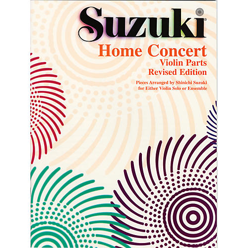 Alfred Suzuki Home Concert: Violin Part (Revised)