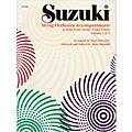 Alfred Suzuki String Orchestra Accompaniments to Solos from Volumes 1 & 2 Score Book thumbnail