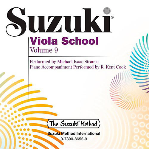 Suzuki Suzuki Viola School CD Volume 9