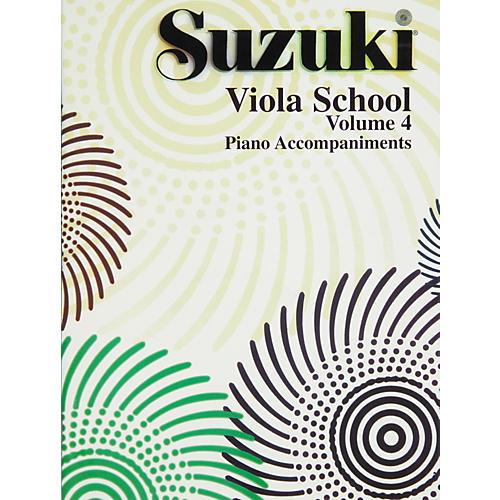 Alfred Suzuki Viola School Piano Accompaniment Volume 4 (Book)