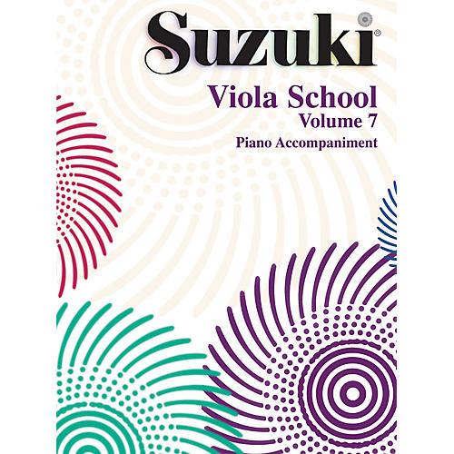 Alfred Suzuki Viola School Piano Accompaniment Volume 7 Book