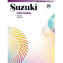 Suzuki Suzuki Viola School Viola Part Book & CD Volume 9