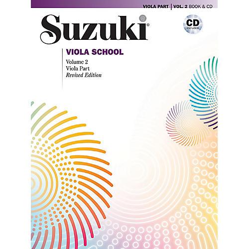 Alfred Suzuki Viola School Viola Part & CD Volume 2 (Revised)