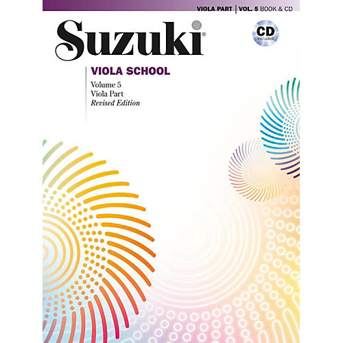 Suzuki Suzuki Viola School Viola Part & CD, Volume 5 Book & CD (Revised)