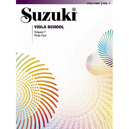 Alfred Suzuki Viola School Viola Part, Volume 7 Book