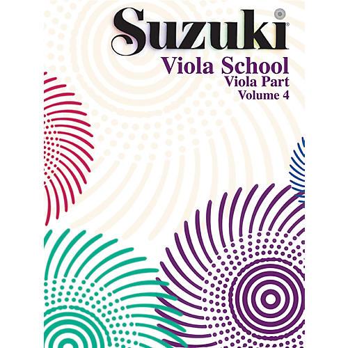 Alfred Suzuki Viola School Volume 4 (Book)