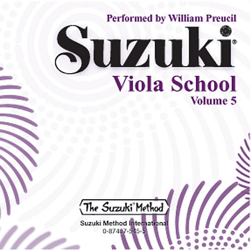 Alfred Suzuki Viola School, Volume 5 (CD)