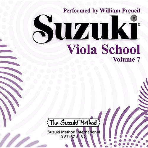 Alfred Suzuki Viola School, Volume 7 (CD)