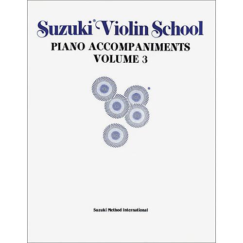 Alfred Suzuki Violin School Piano Accompaniment Volume 3 Textbook