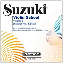 Suzuki Suzuki Violin School, Volume 1 Perf./Acc. CD