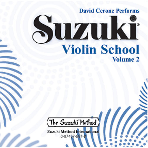 Alfred Suzuki Violin School Volume 2 (CD)