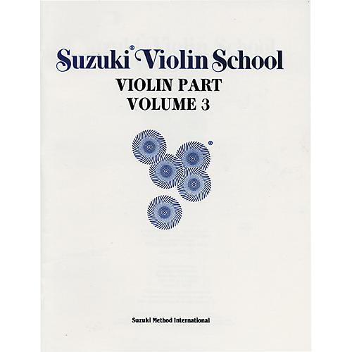 Alfred Suzuki Violin School Volume 3 (Book)