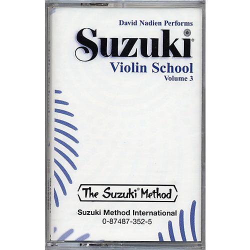 Alfred Suzuki Violin School Volume 3 (Cassette)