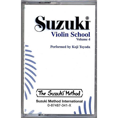 Alfred Suzuki Violin School Volume 4 (Cassette)