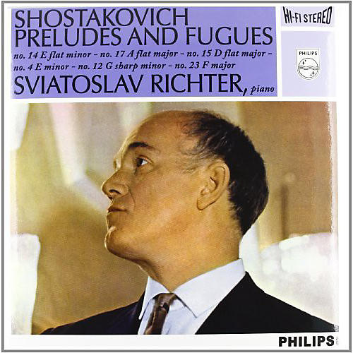 Alliance Sviatoslav Richter - Shostakovich: 6 Preludes & Fugues from Op. 87