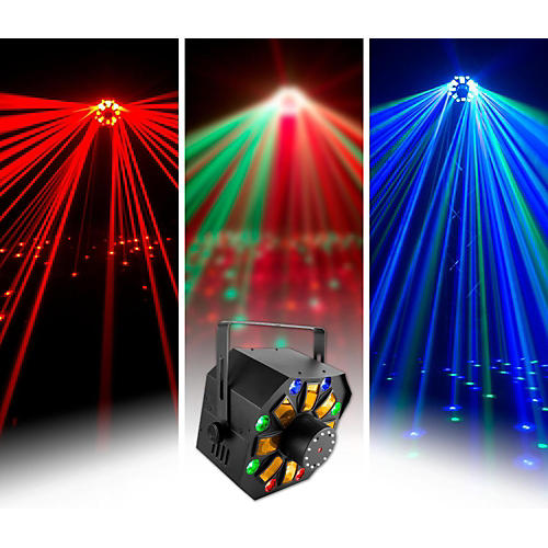 CHAUVET DJ Swarm Wash FX Stage Laser With LED Lighting Effect and Strobe Light