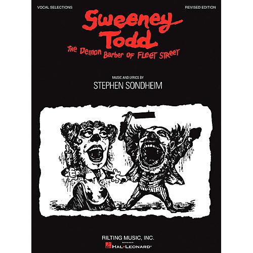 Hal Leonard Sweeney Todd Vocal Selections