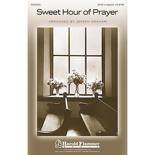 Shawnee Press Sweet Hour of Prayer SATB a cappella arranged by Joseph Graham