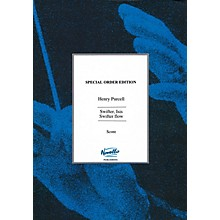 Novello Swifter, Isis, Swifter Flow Full Score Composed by Henry Purcell