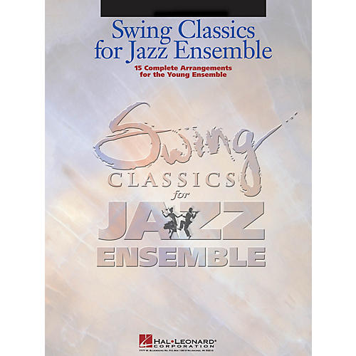 Hal Leonard Swing Classics for Jazz Ensemble - Drums Jazz Band Level 3 Composed by Various