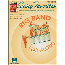 Hal Leonard Swing Favorites Big Band Play-Along Vol. 1 Tenor Sax Book/CD
