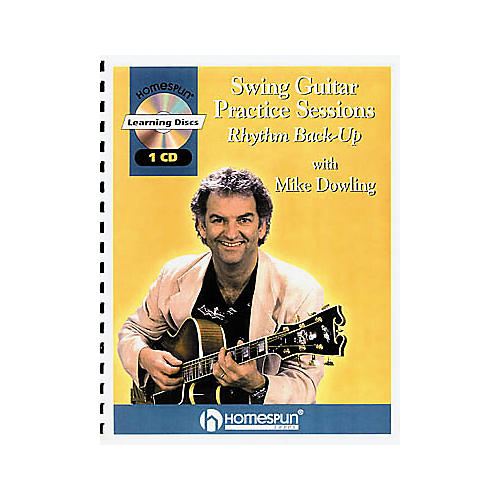 Hal Leonard Swing Guitar Practice Sessions Book/CD